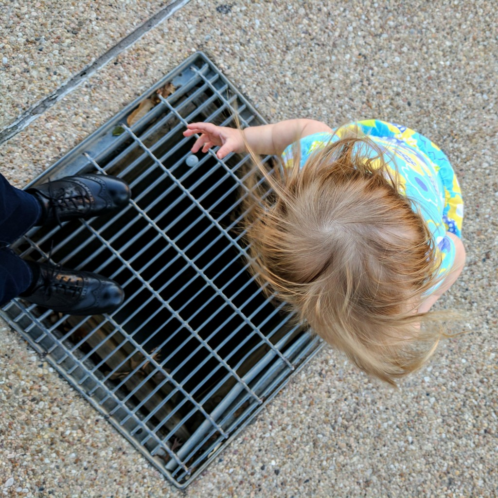 You make a quick detour to your favorite sidewalk vent. It blows warm air.