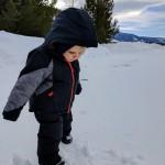 annie's first snow