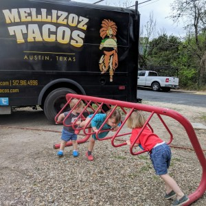 bike rack playground